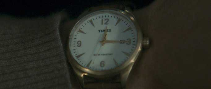Dougray Scott wearing the Timex watch in the Last Passenger