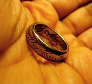 Buy the Ring Frodo Wears in Lord of the Rings