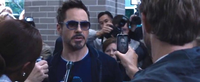 Tony Stark Sunglasses From Iron Man 3