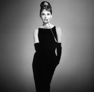 Holly Golightly Black Dress Breakfast at Tiffanys