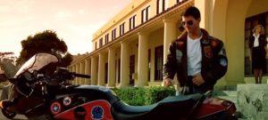 tom cruise leather jacket top gun