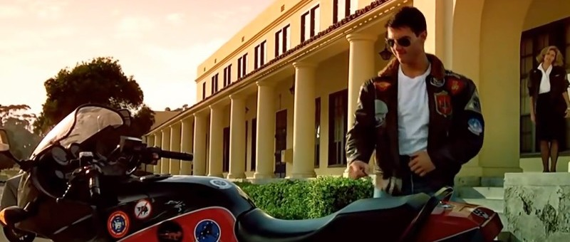 Buy the Leather Jacket Tom Cruise Wears in Top Gun