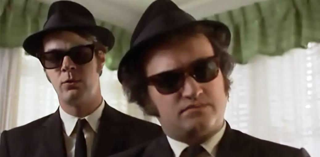 f3ec450a37 Buy The Blues Brothers Sunglasses  Dan Aykroyd as Elwood and John Belushi  as Jake