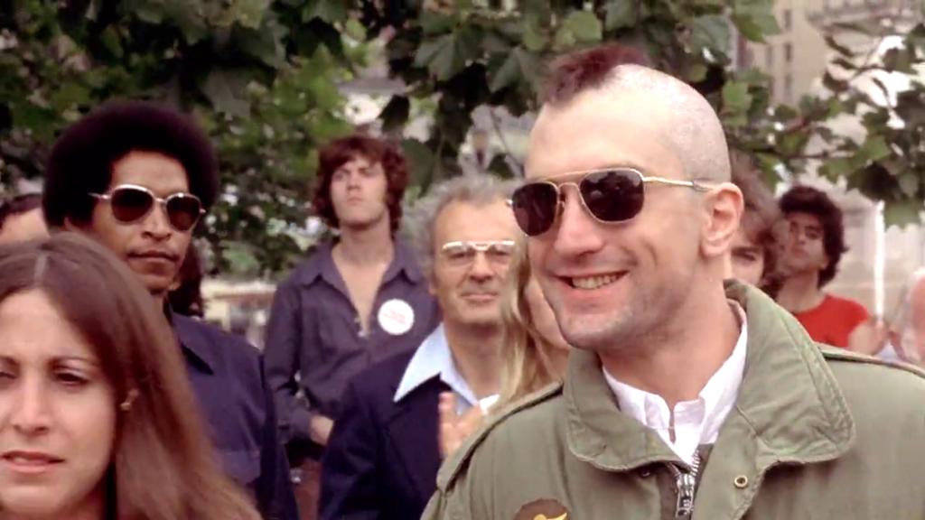 Robert De Niro Taxi Driver sunglasses