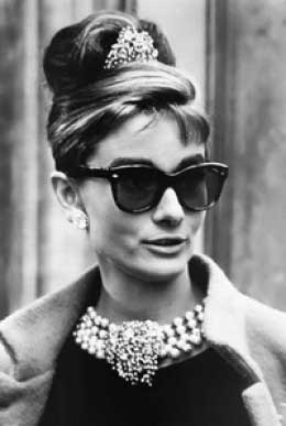 2c572383969 Audrey Hepburn Sunglasses from Breakfast at Tiffany s