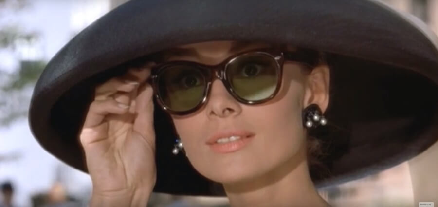 Audrey Hepburn Sunglasses from Breakfast at Tiffanys